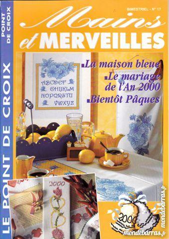 Mains et Merveilles N°17 POINT CROIX Delft isis89 3 Saint-Florentin (89)