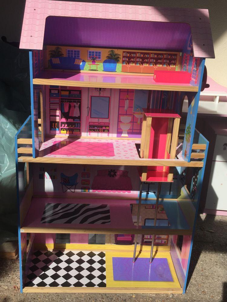 Maison de poupée en bois 59 Courtry (77)