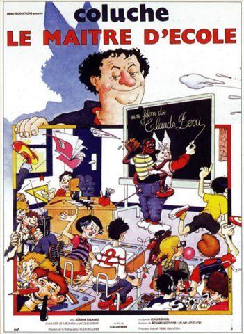 LE MAITRE D'ÉCOLE Véritable Affiche de Cinéma  60 Maisons-Alfort (94)