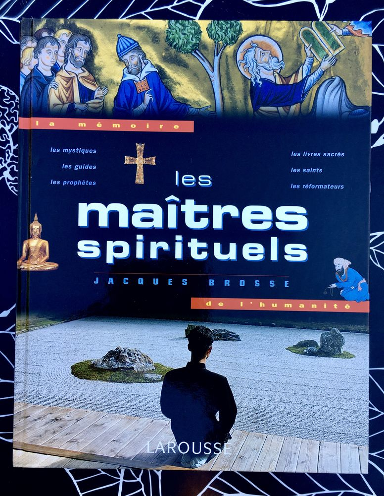 Les Maîtres spirituels de J.Brosse, Beau livre relié Neuf  10 L'Isle-Jourdain (32)