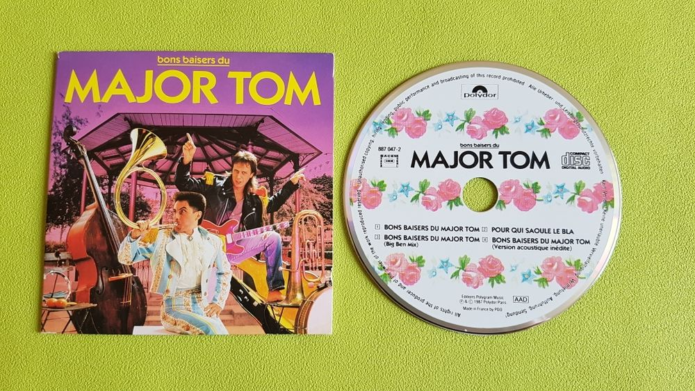MAJOR TOM CD et vinyles
