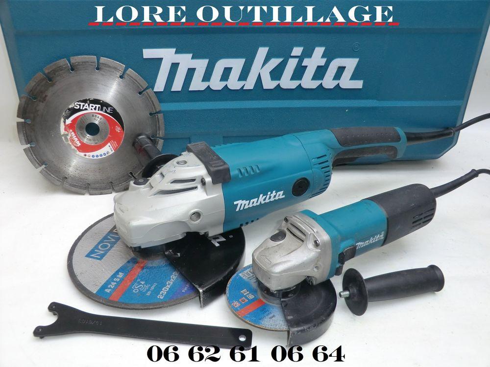 MAKITA GA9020 + 9558HNR - Meuleuse 120 Cagnes-sur-Mer (06)
