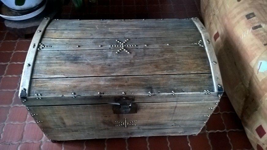 malle bois ancienne d'occasion 50 Saint-Philbert-sur-Risle (27)