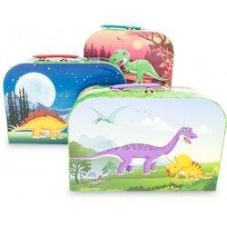 mallette gigogne enfant Dinosaures lot de 3 Jeux / jouets