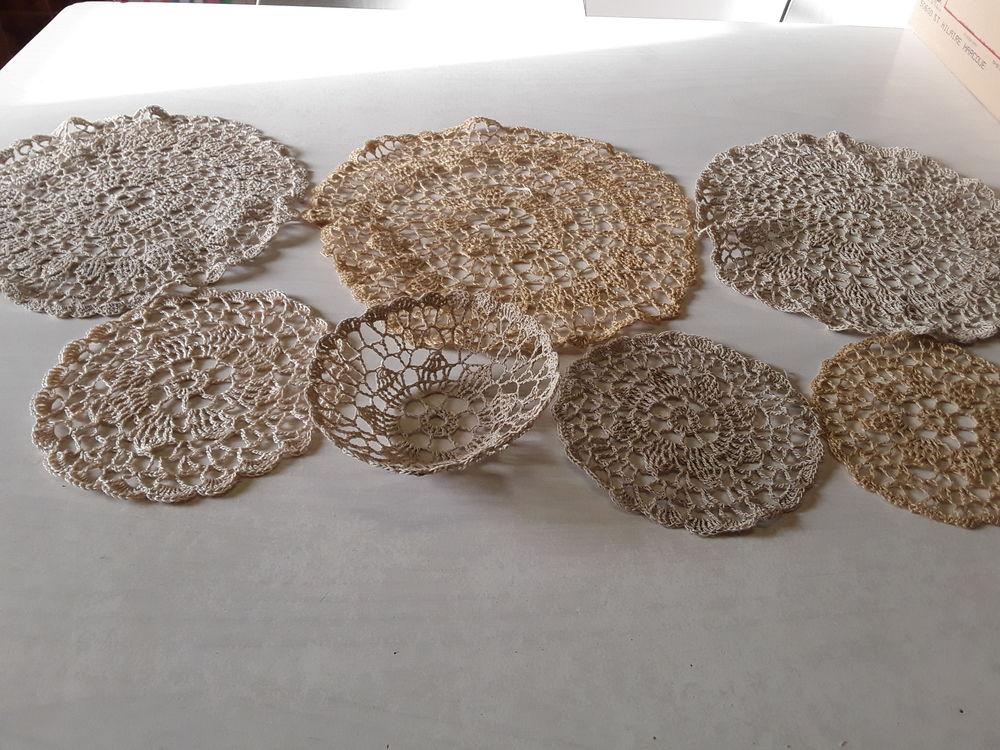 Mamy43 napperon en coton rustique  crochet  3 Mortain (50)