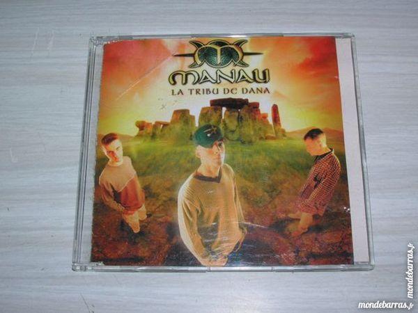 CD MANAU La tribu de Dana 4 Nantes (44)