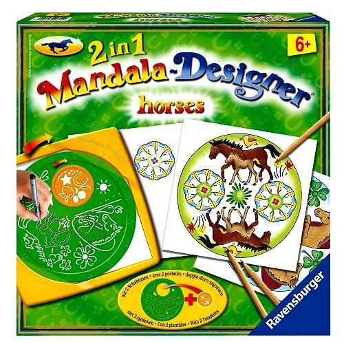 Mandala Designer Chevaux 2 en 1 de Ravensburger 9 Brie-Comte-Robert (77)