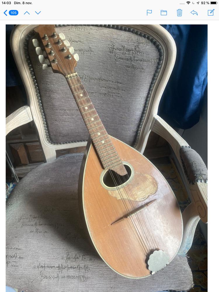 Mandoline 8 cordes Instruments de musique