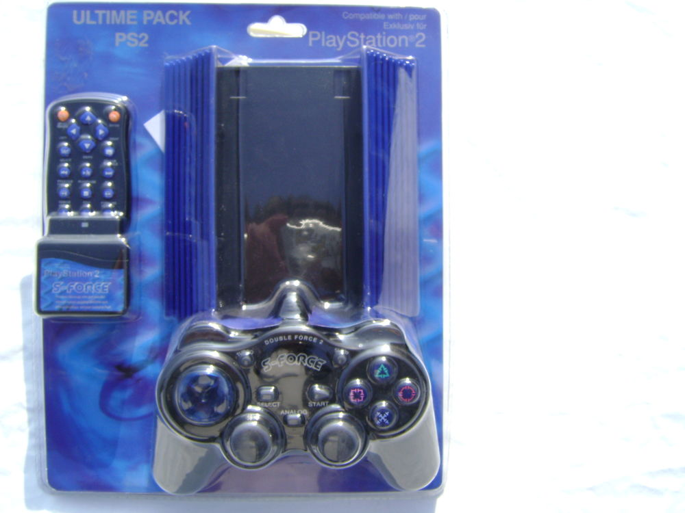 MANETTE ANALOGIQUE VIBRANTE , ULTIM PACK PS2 SONY  15 Libercourt (62)