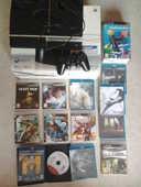 PS3 + 1 manette + PS Move + 20 jeux + câble HDMI 290 Évry (91)