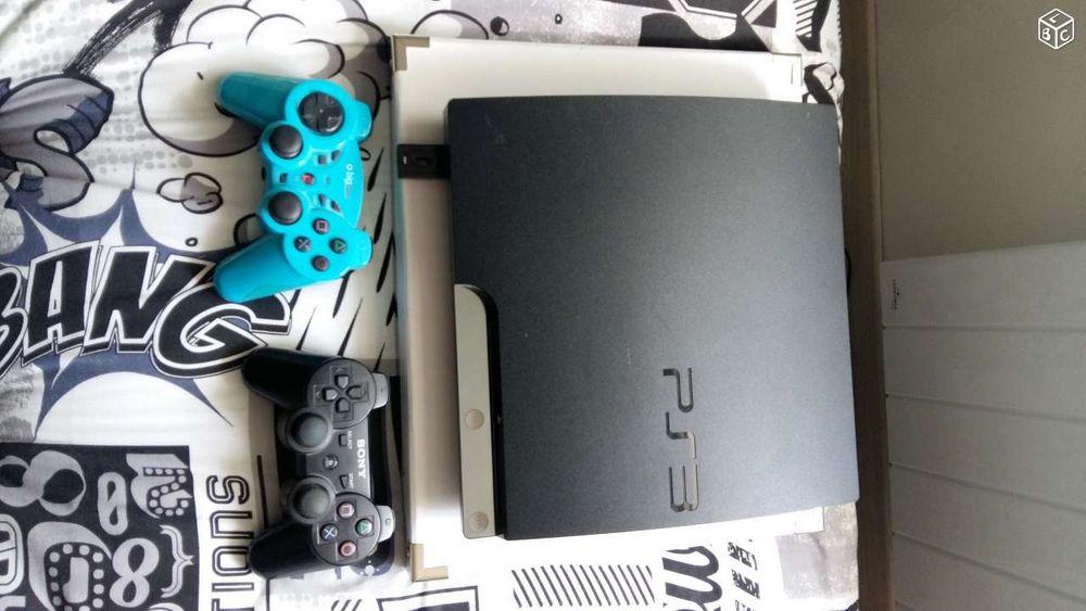 PS3 + 2 manettes + 23 jeux 150 Reims (51)