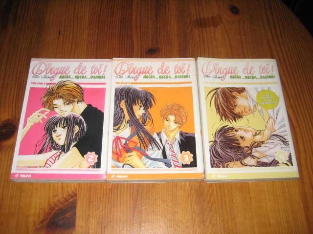 lot 3 mangas DINGUE DE TOI 2+3+4. asuka 10 Cézy (89)
