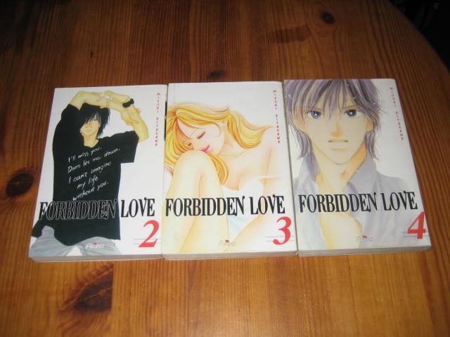 lot 3 mangas FORBIDDEN LOVE 2 a 4 akiko 10 Cézy (89)