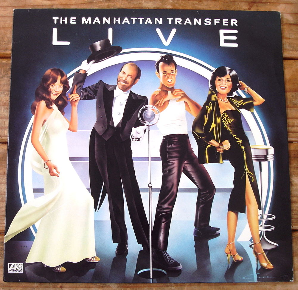 THE MANHATTAN TRANSFER LIVE-33t-THAT CAT IS HIGH-CHANSON D'A 6 Tourcoing (59)