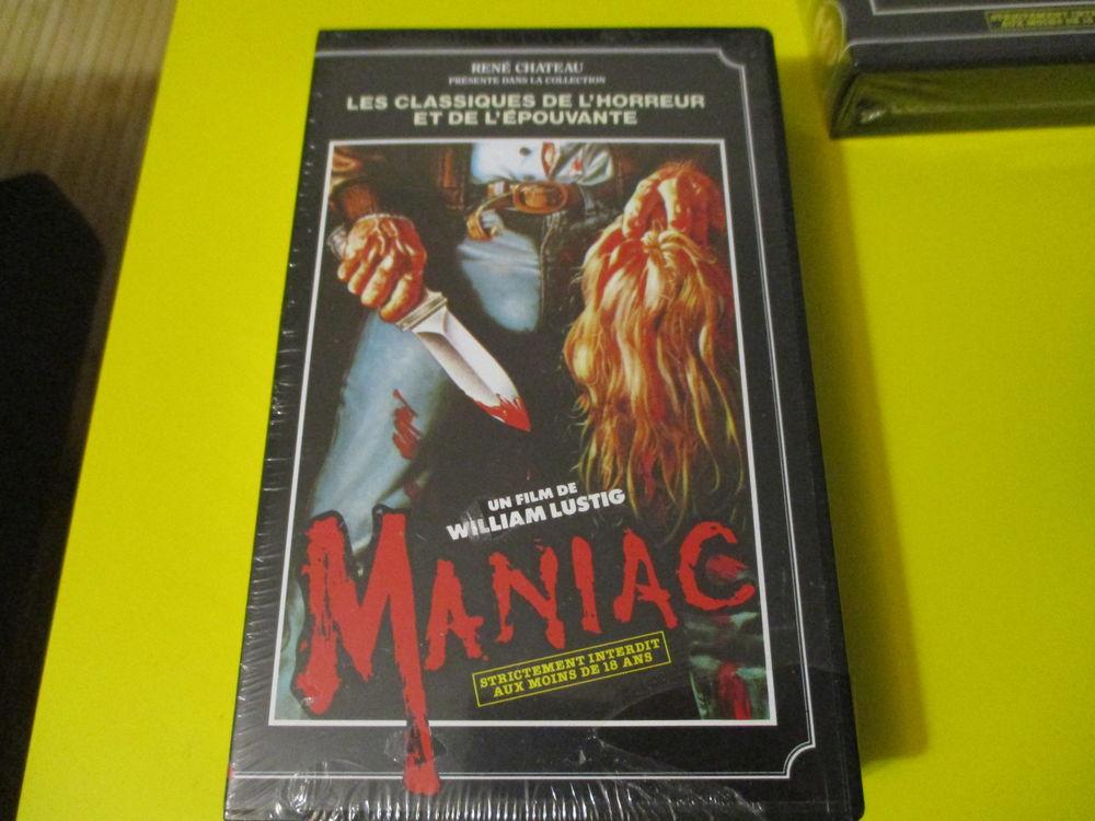 MANIAC VHS BILL LUSTIG JOE SPINELL SERIE B HORREUR 20 Lognes (77)