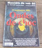 manière de voir 60 11 septembre 2001 ondes de choc  5 Laval (53)