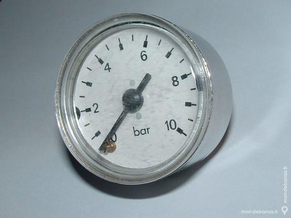 Manomètre 10 Bar Diamètre 40mm Boitier INOX 10 Farschviller (57)