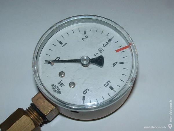 Manomètre Oxygen EMPEO 6 Bar diamètre 62mm 8 Farschviller (57)