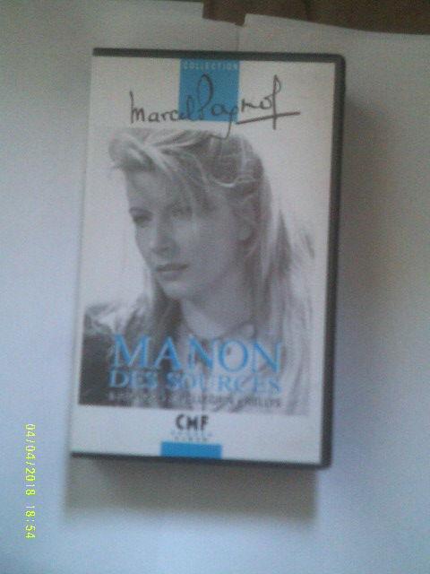 MANON des SOURCES avec jacqueline pagnol DVD et blu-ray