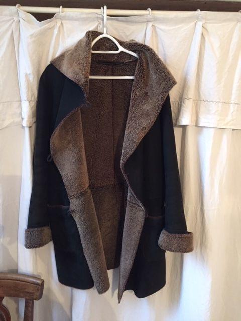 manteau agneau noir femme 80 Aix-en-Provence (13)