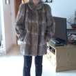 manteau en rat d Amérique des fourrures de la madeleine Bougival (78)