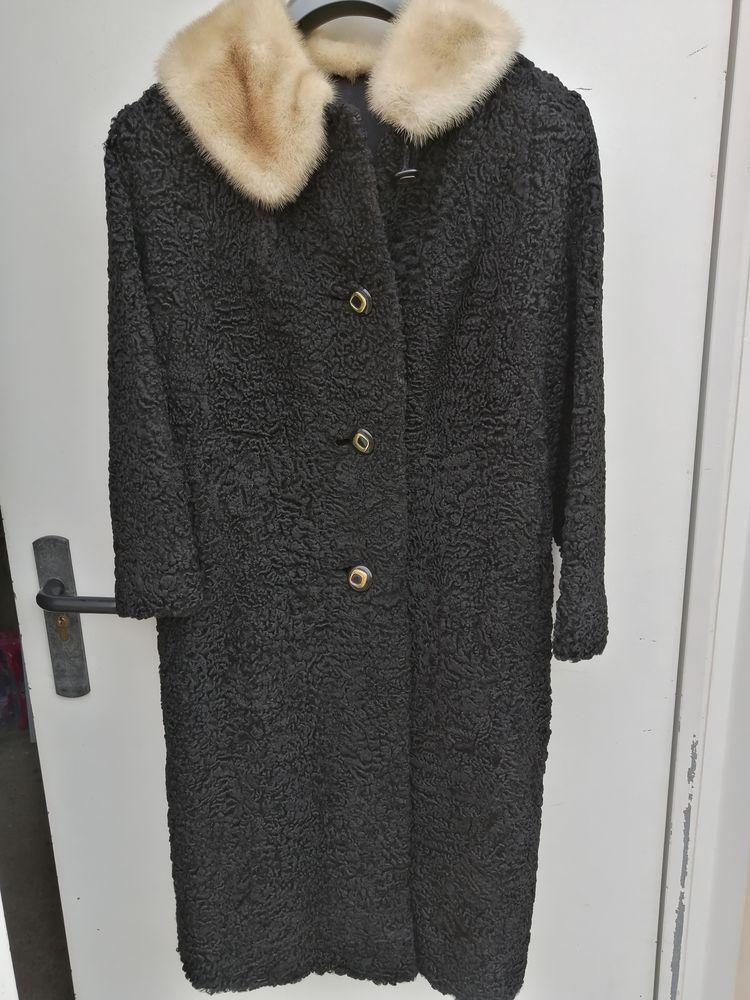 Manteau en astrakan Vêtements