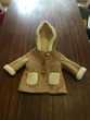 manteau avec capuche enfant fille Zara
