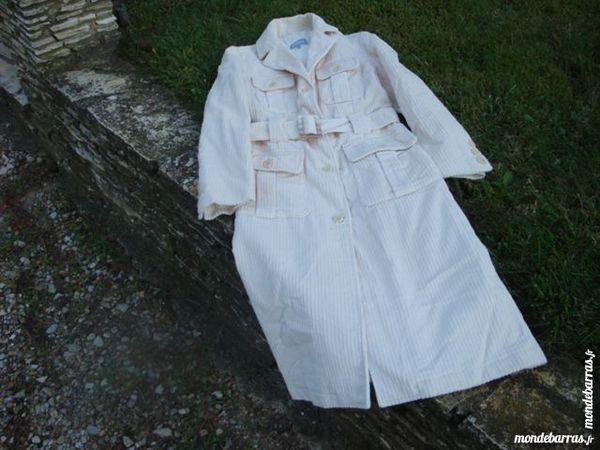 Manteau blanc en velours 15 Nimes (30)