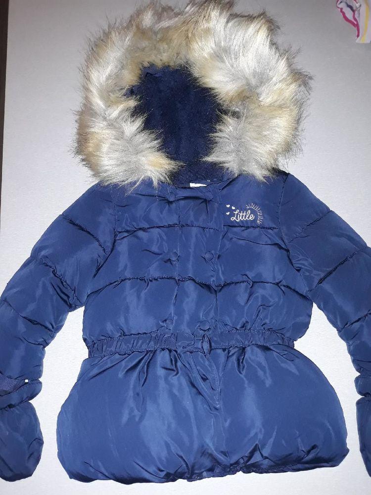 manteau bleu 18 mois Tape à l'?il TBE 20 Olivet (45)