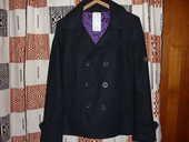 Manteau caban noir SOMEWHERE NEUF TAILLE S 85 Lamoura (39)