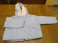 Manteau capuche et pantalon pour dehors bleu ciel 1 an 0 Mérignies (59)