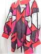 Manteau chic cuir rouge noir blanc rose T 44 Clermont-Ferrand (63)