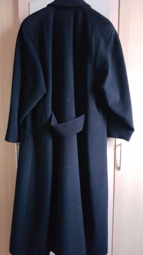 Manteau chic long noir 80 Saint-Nazaire (44)