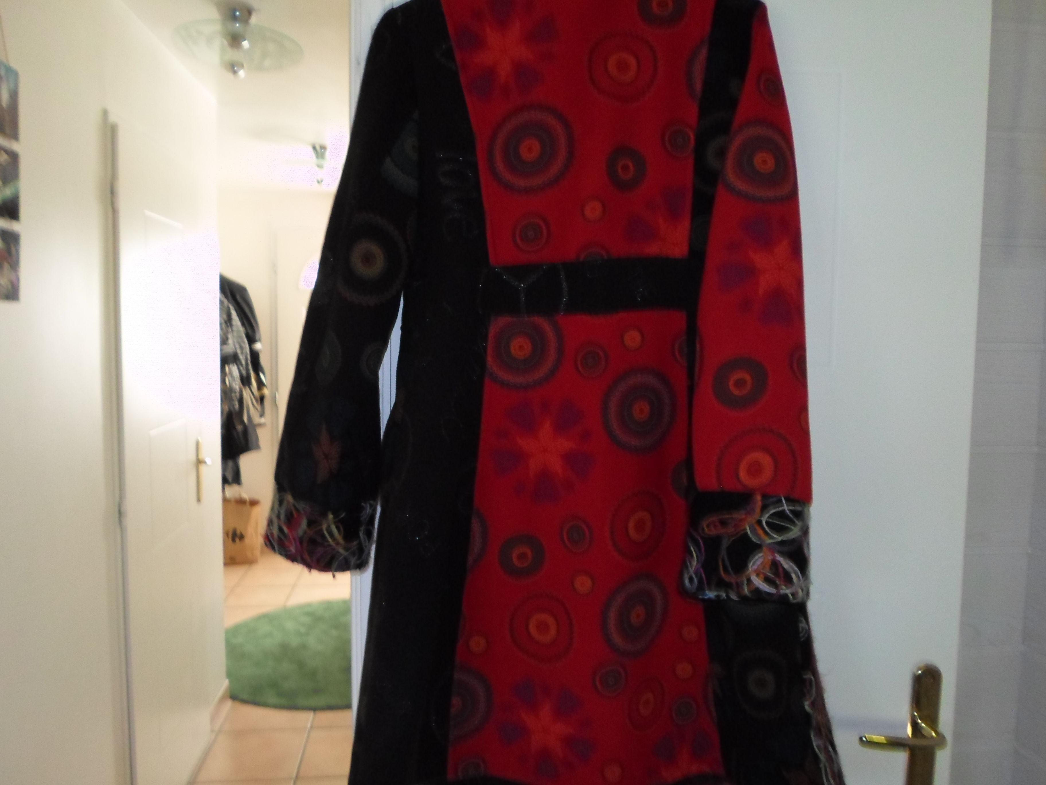 Manteau femme desigual occasion