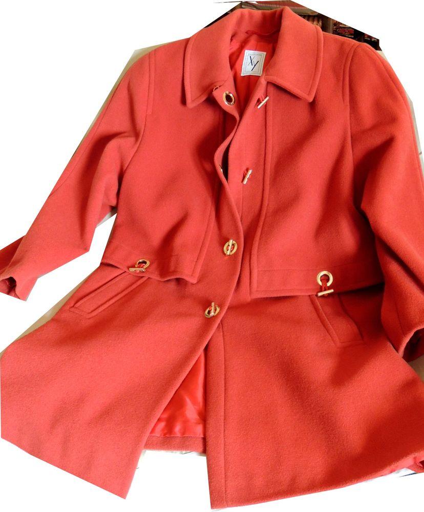 Manteau confortable et chic. Vêtements