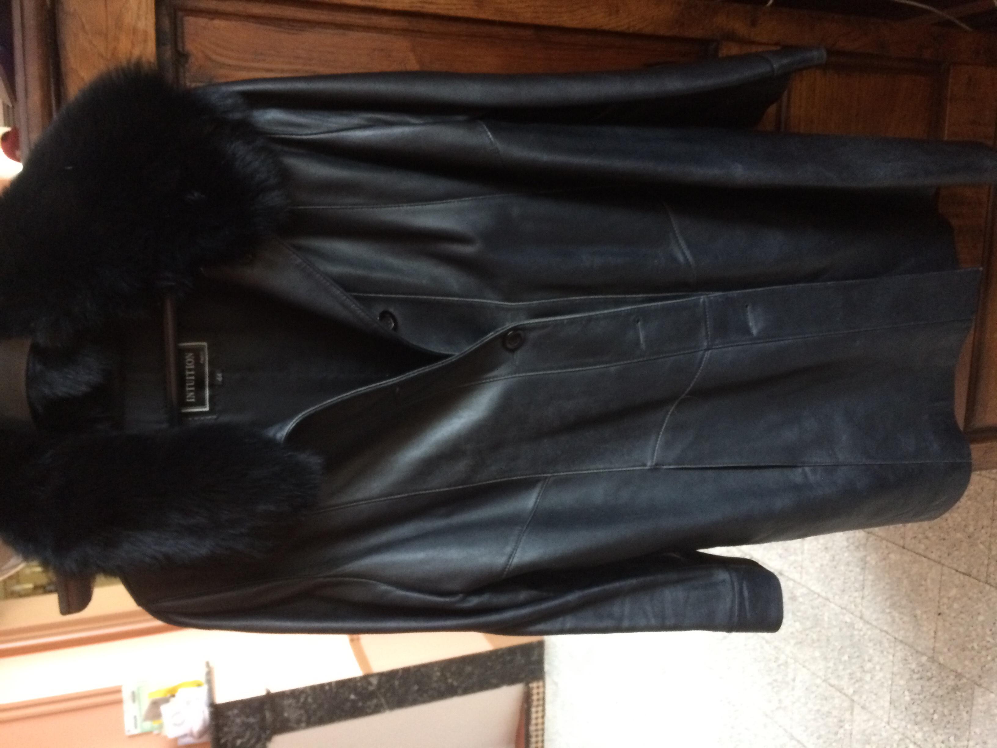 Achetez manteau cuir et col occasion, annonce vente à Grandfresnoy ... 05afb31b7c8b