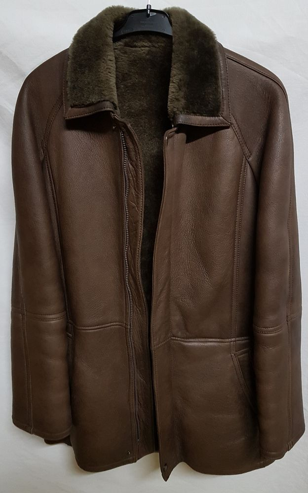 Manteau en cuir et fourrure 250 Marignane (13)