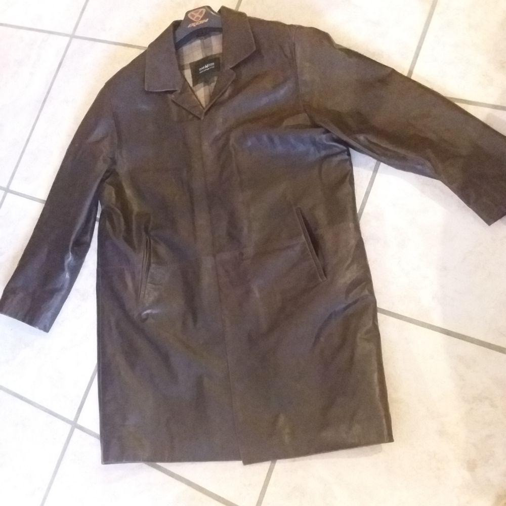 Manteau cuir 3/4 homme cuir 80 Montpellier (34)
