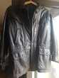 Manteau en cuir homme, doublé, vintage, bon état 40 Mouxy (73)