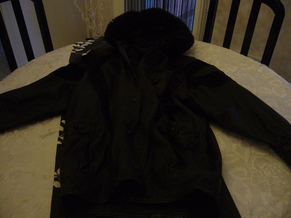 Manteau en cuir veritable 50 Nice (06)