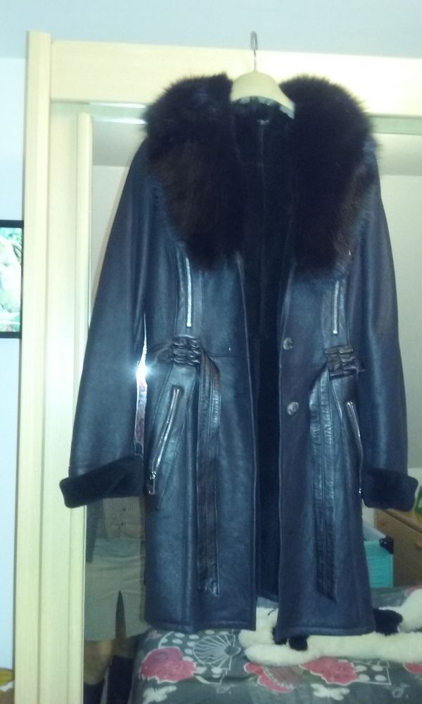 manteau en cuir  600 Baron (60)