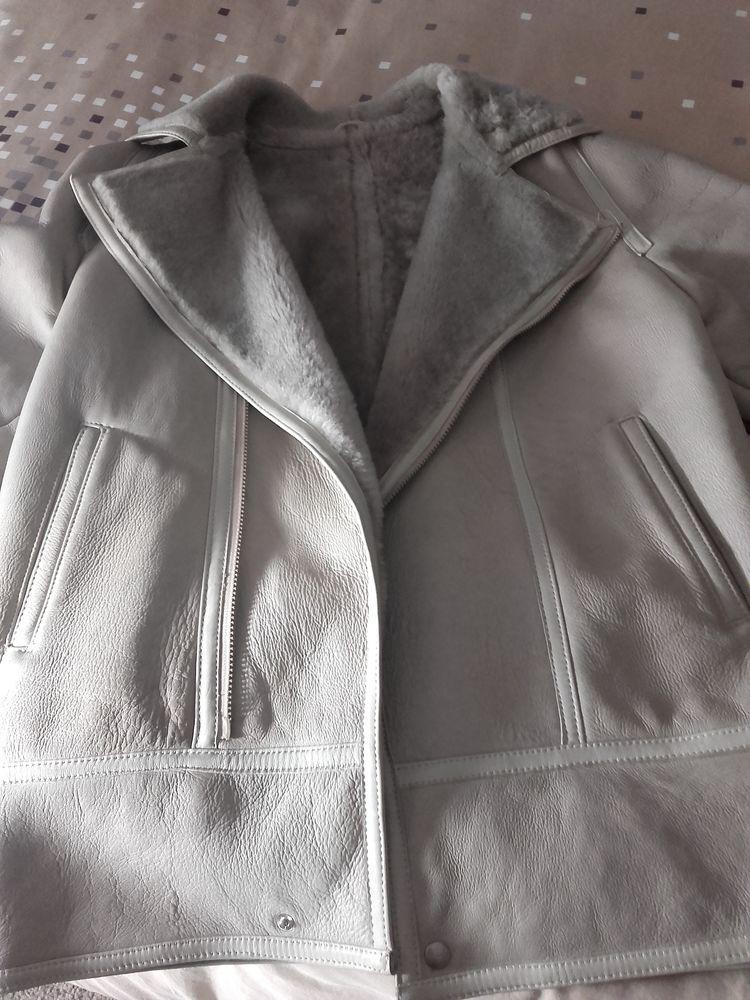 manteau en cuir Vêtements