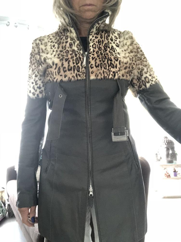 Manteau cuir  0 Osny (95)
