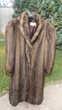 manteau Damart imitation vison. Vêtements