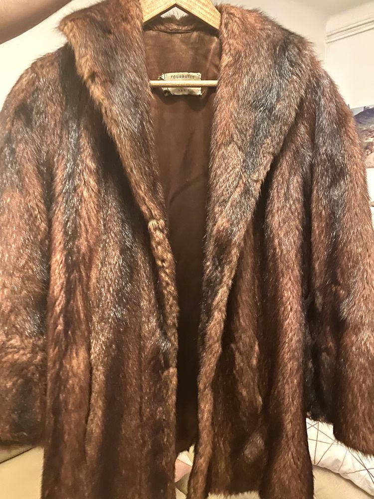 Manteau femme brunswick en vison. 100 Toulon (83)