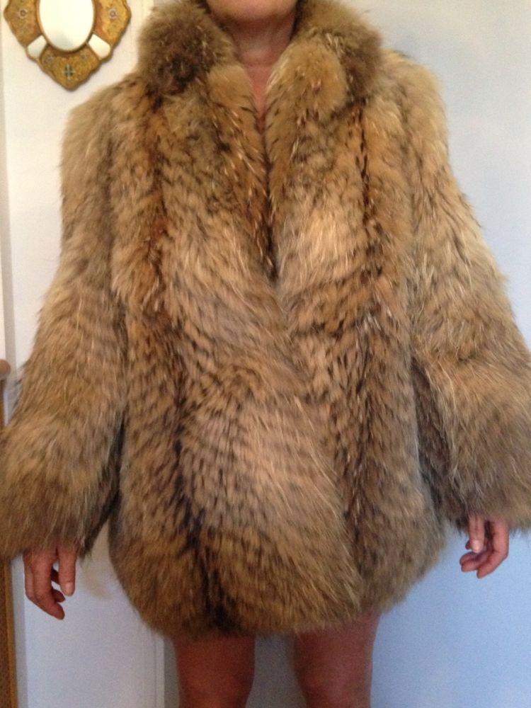 06ec525aff3 Manteau fourrure marmotte du Canada Vêtements