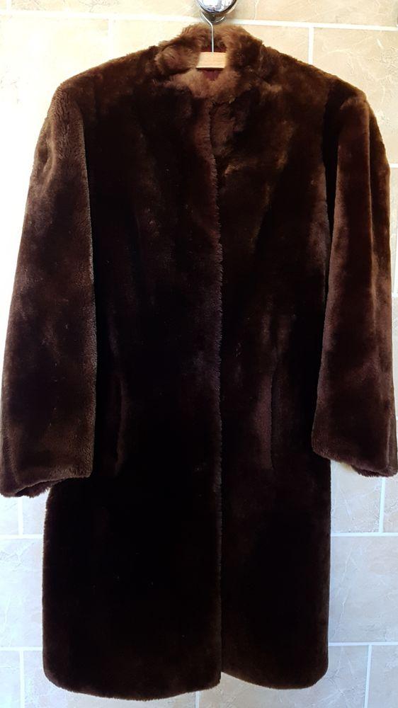 Manteau en fourrure (mouton doré)  250 Marignane (13)