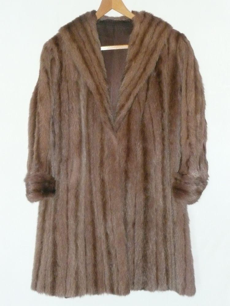 Manteau en fourrure de ragondin taille 42 0 Vallet (44)