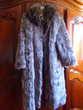 Manteau de fourrure renard argenté Vêtements