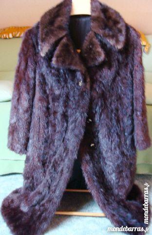 Manteau fourrure de vison- T40 Vêtements